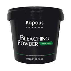 Пудра осветляющая ментол Kapous 500 г - фото 36636