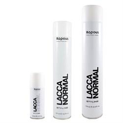 Лак аэрозольный для волос нормальной фиксации Kapous - фото 36642