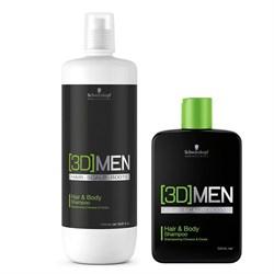 Шампунь для волос и тела 3D MEN - фото 38417