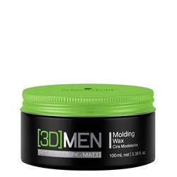 Формирующий воск для укладки волос 3D MEN 100 мл - фото 38420