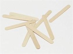 Шпатель деревянный 100 шт/уп - фото 39946