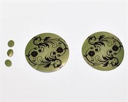 Стикини для защиты груди и родинок фольга 50 пар/уп - фото 39959