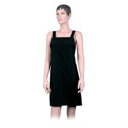 Фартук мастера Dewal для стрижки мужской, полиэстер, черный 74х78,5 см - фото 40310
