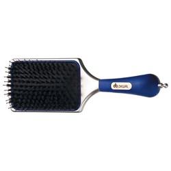 Щетка массажная Dewal лопата, натуральная щетина+пластиковый штифт, с хвостиком - фото 40428