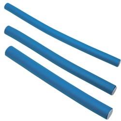 Бигуди-бумеранги Dewal, синие d=14 мм 10 шт/уп - фото 40557