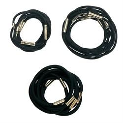 Резинки для волос Dewal, черные 10 шт/уп - фото 40871