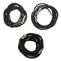 Резинки для волос Dewal, коричневые 10 шт/уп - фото 40875