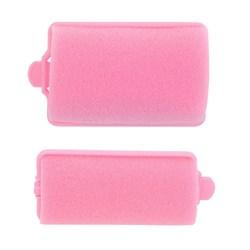 Бигуди поролоновые Dewal, розовые 12 шт/уп - фото 40890