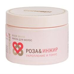 Маска для волос Concept SPA Роза&Инжир Укрепление и тонус 350 мл - фото 42105