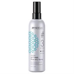 Экспресс-спрей для быстрой сушки волос Indola 200 мл - фото 42213