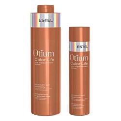 Деликатный шампунь для окрашенных волос Estel Otium Color Life - фото 42677