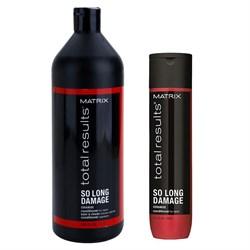 Кондиционер для восстановления ослабленных волос So Long Damage Matrix - фото 43896