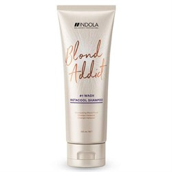 Шампунь Indola Blond Addict Pinkrose для теплых оттенков 250 мл - фото 44123