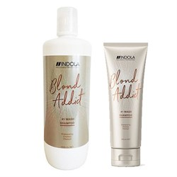 Шампунь для всех типов волос Indola Blond Addict - фото 44129
