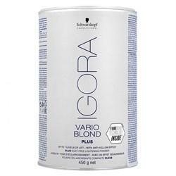 Осветляющий порошок Igora Vario Blond Plus 450 г - фото 44405