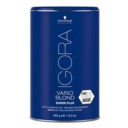 Осветляющий порошок Igora Vario Blond Super Plus 450 г - фото 44406