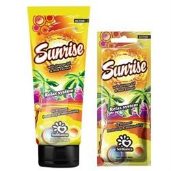 Крем для загара в солярии Sunrise с маслом апельсина, алоэ и бронзаторами SolBianca - фото 44871