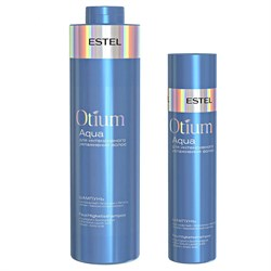 Шампунь для интенсивного увлажнения волос Estel Otium Aqua - фото 44932