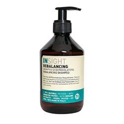 Шампунь против жирной кожи головы Rebalancing Sebum Control Insight 400 мл - фото 45175