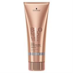 Бондинг-шампунь для поддержания холодных оттенков блонд BlondMe Tone Enhancing Bonding Shampoo Cool 250 мл - фото 45523