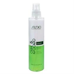 Двухфазная сыворотка для волос с маслами авокадо и оливы Studio Kapous 200 мл - фото 46019