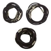 Резинки для волос Dewal, коричневые 10 шт/уп