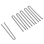 Шпильки Dewal серебристые, прямые