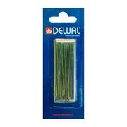 Шпильки Dewal коричневые, прямые 60 мм, 24шт/уп, на блистере