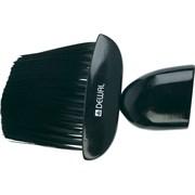 Кисть-сметка Dewal, плоская, ручка дерево, искусственная щетина