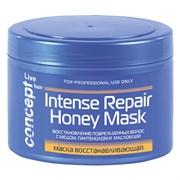 Маска восстанавливающая Concept с медом для сухих и поврежденных волос 500 мл