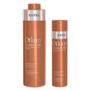 Деликатный шампунь для окрашенных волос Estel Otium Color Life