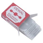 Лезвия Dewal для педикюрного станка 10 шт