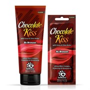 Крем для загара в солярии Chocolate Kiss с маслом какао, маслом Ши и бронзаторами SolBianca