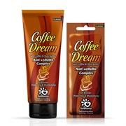 Крем для загара в солярии Coffee Dream с маслом кофе, маслом Ши и бронзаторами SolBianca
