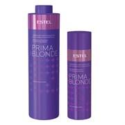 Серебристый шампунь Estel Otium Prima Blonde для холодных оттенков блонд