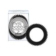 Резинка-браслет для волос Slim True Black Invisibobble