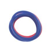 Резинки для волос Dewal, красный/синий 12 шт/уп