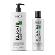 Кондиционер для реконструкции и глубокого восстановления волос Epica Keratin Pro
