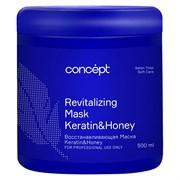 Маска  восстанавливающая Keratin & Honey Salon Total Soft Care Concept 500 мл